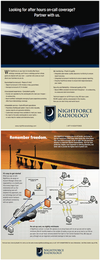 NightForce Radiology Flyer